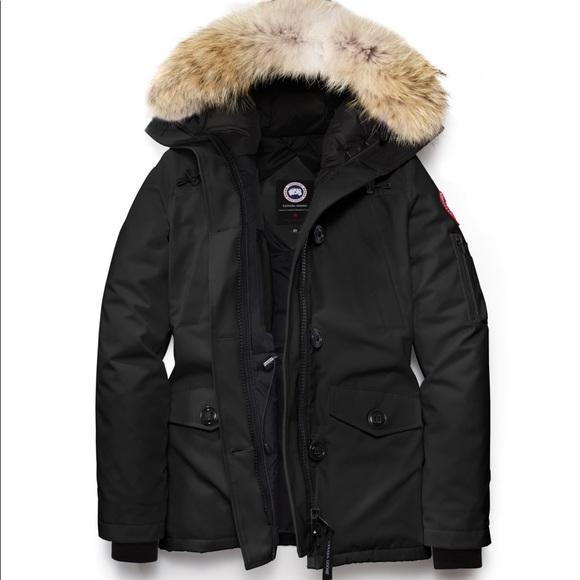 4508bdada Canada Goose Montebello parka in black, medium